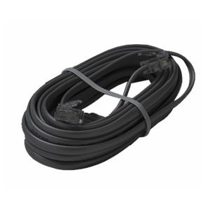 Cable Plano Telefonico Negro