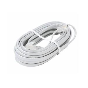 Cable Plano Telefonico Blanco