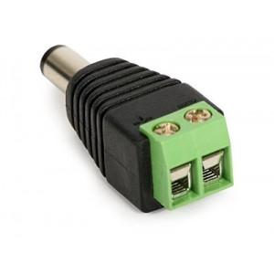 Conector de AR DC 5,5x2,1mm Macho a bornera