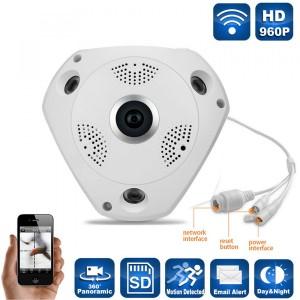 Camara De Seguridad Ip 360